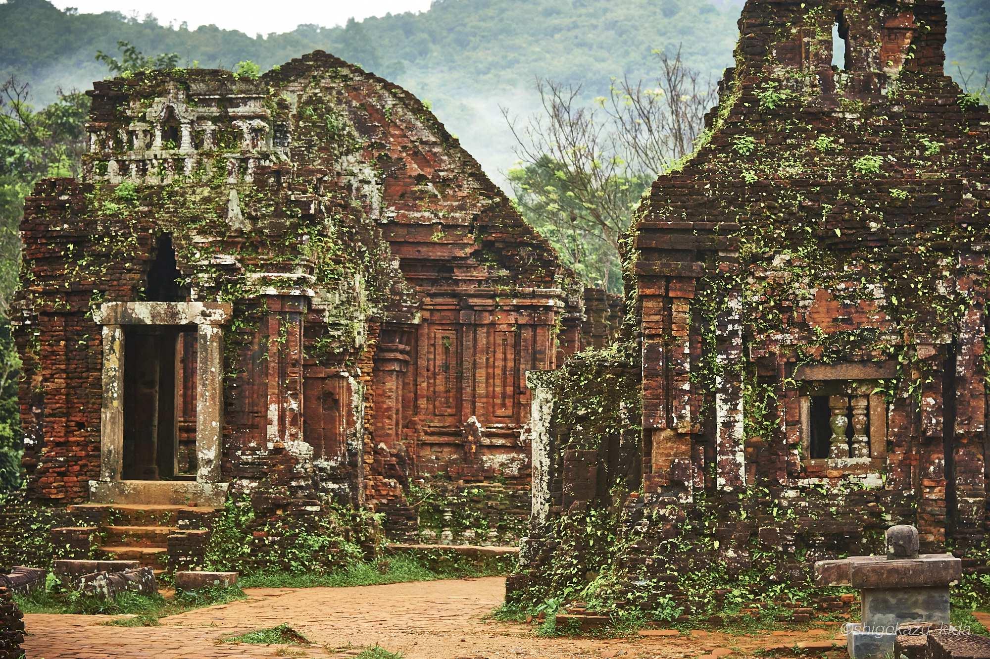 ベトナムMySonSanctuary(ミーソン遺跡)の祠堂