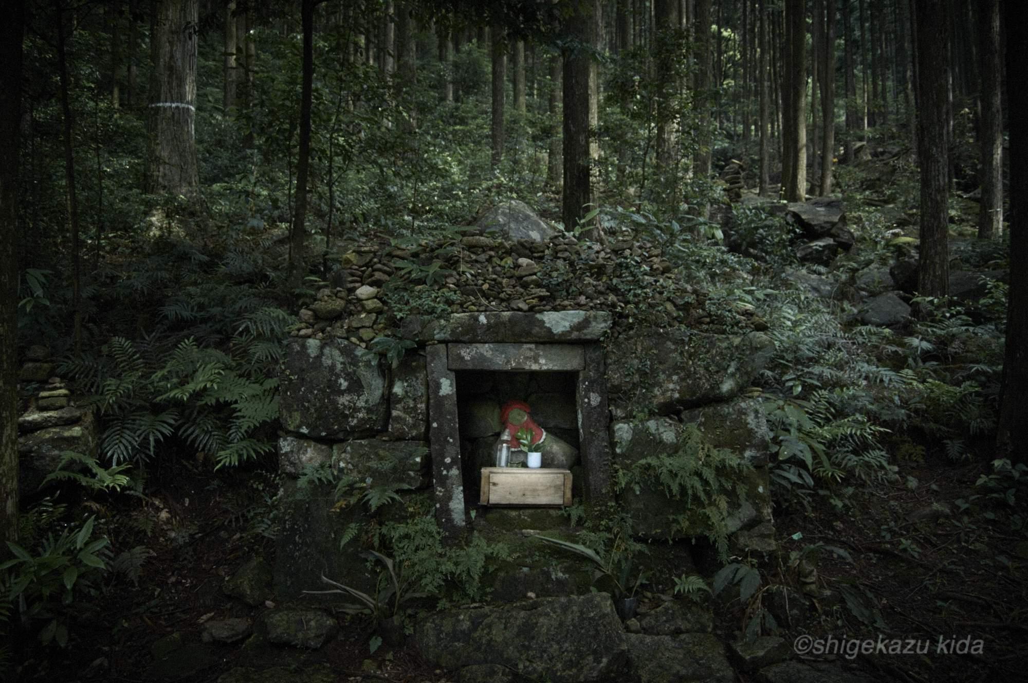 貴田茂和 shigekazu kida 熊野古道の馬越峠