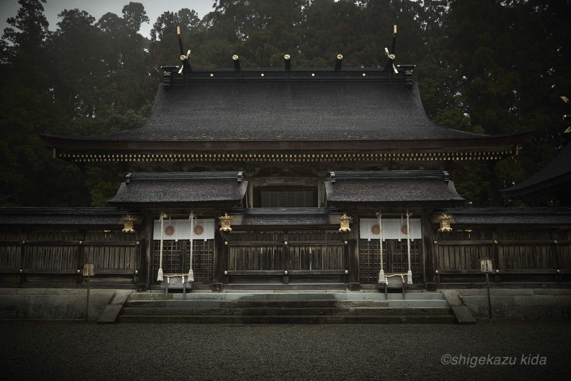 貴田茂和 shigekazu kida 熊野古道の熊野本宮