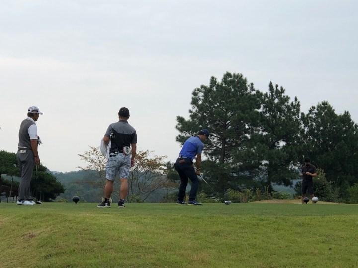 ゴルフ番組収録しました