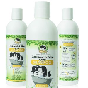 Natural Hypoallergenic Oatmeal Dog Shampoo: Itchy Dry Sensitive Skin