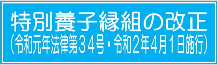 200401 施行 特別養子縁組<バナー>