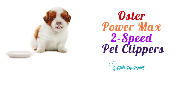 Oster Power Max 2-Speed Pet Clippers with CryogenX Antimicrobial Blade