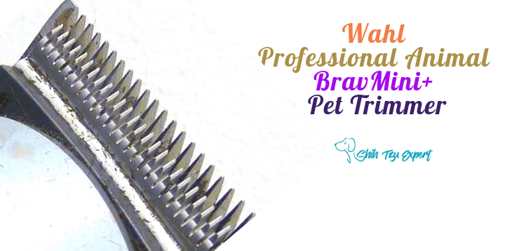 Wahl Professional Animal BravMini+ Pet Trimmer for Dogs