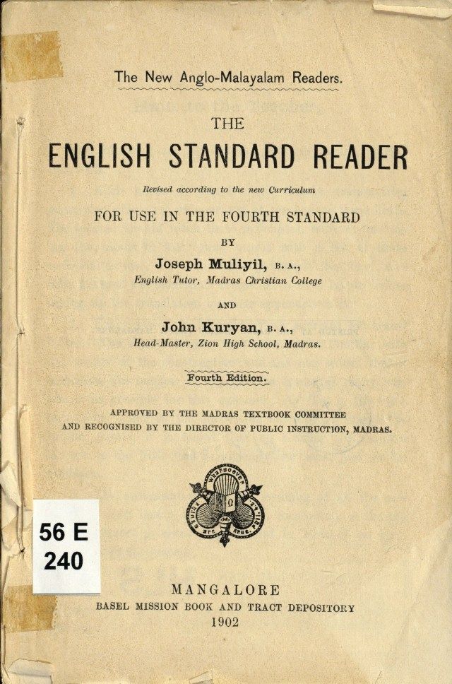 1902 - The English Standard Reader for use in the fourth standard