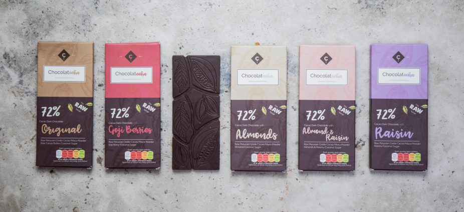 Product Photography of Chocolateeha Chocolate Bars by Shika Finnemore www.shikafinnemore.com - Food and Product Photographer in Gold Coast & Brisbane