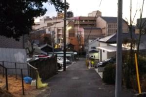 朝6:42、有松駅へ