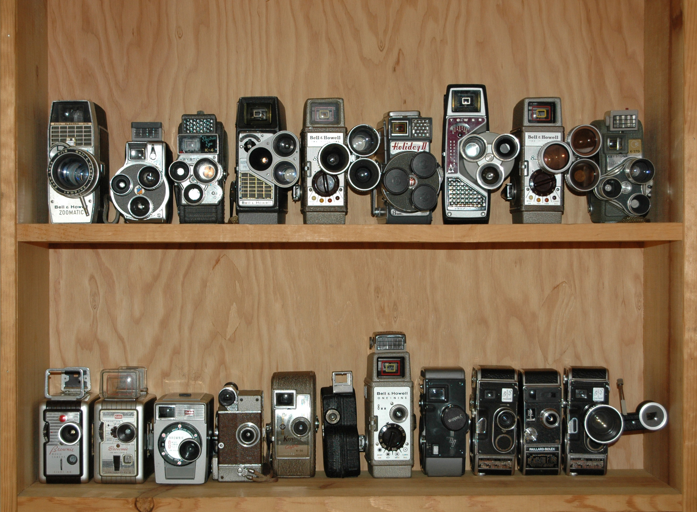 BJ s Movie Camera Collection