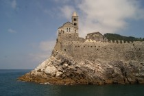 The church of San Pietro greets you as you arrive at Portovenere.