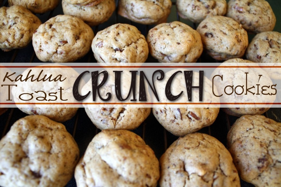 Recipe: Kahlua Toast Crunch Cookies