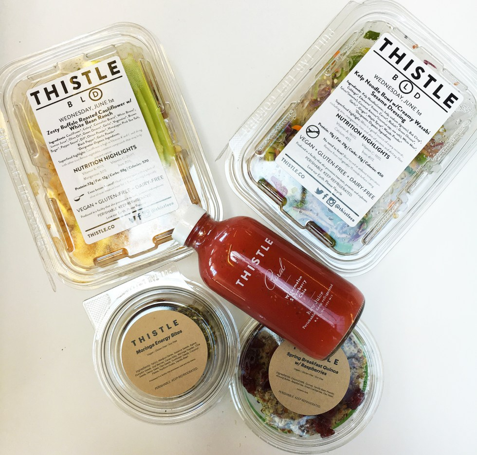 Eat Better & Save Time with Thistle
