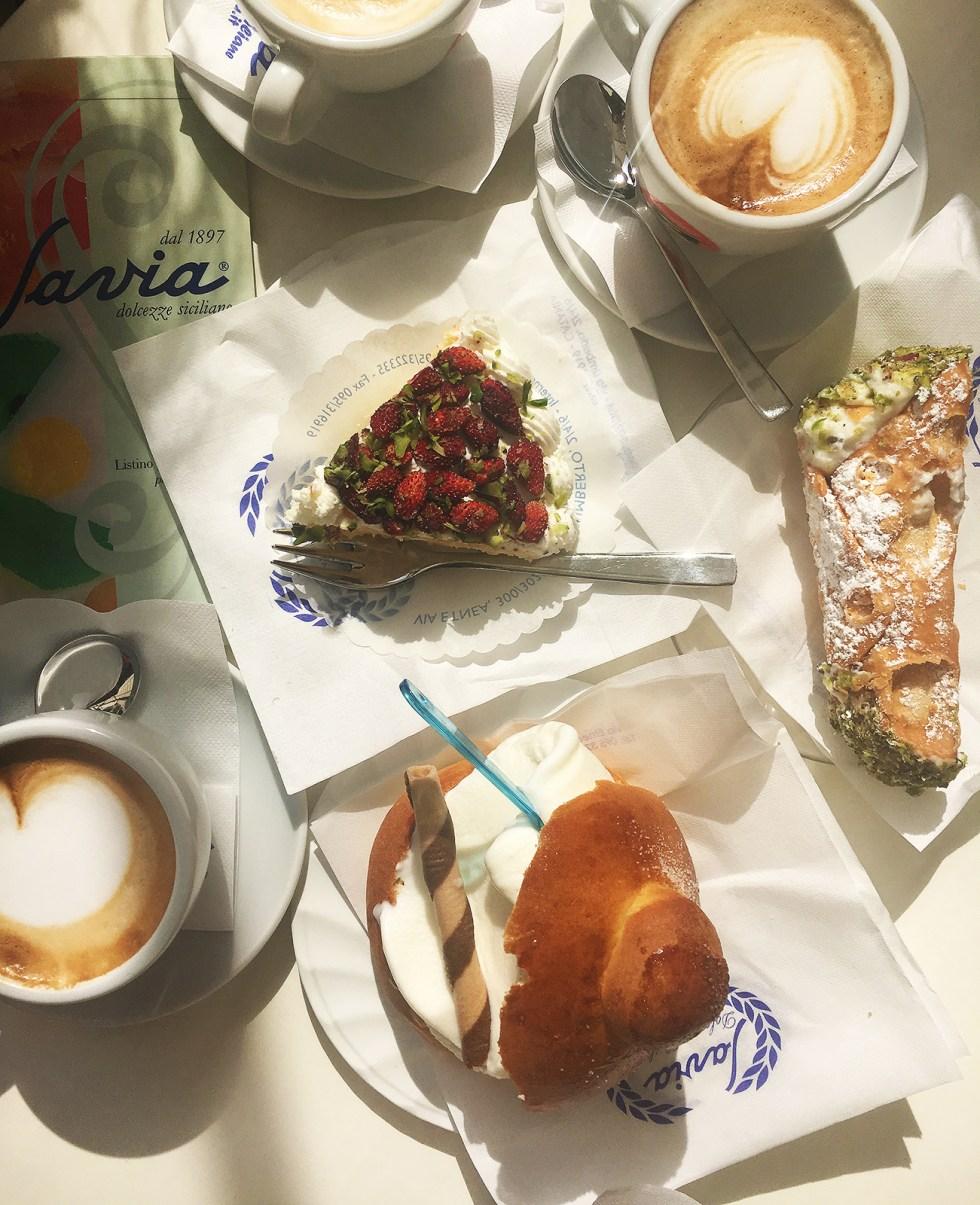 Cafe Savia Sicily Catania