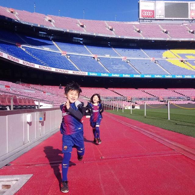 将来は日本代表選手になってワールドカップ優勝目指す!甥っ子taiyoクン。