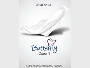 WikiLeaks Butterfly doesn't
