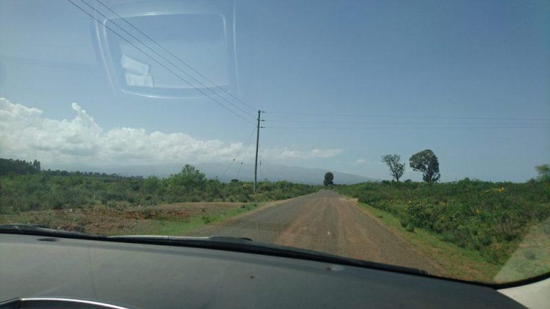Mount Kenya Safari Club Road