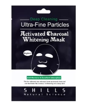 Activated Charcoal Whitening Mask