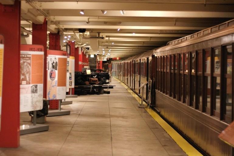 New_York_Transit_Museum_Court_Street_platform Brooklyn Museums