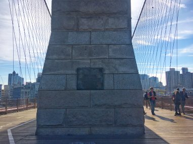 Brooklyn Bridge Emily Roebling Plaque