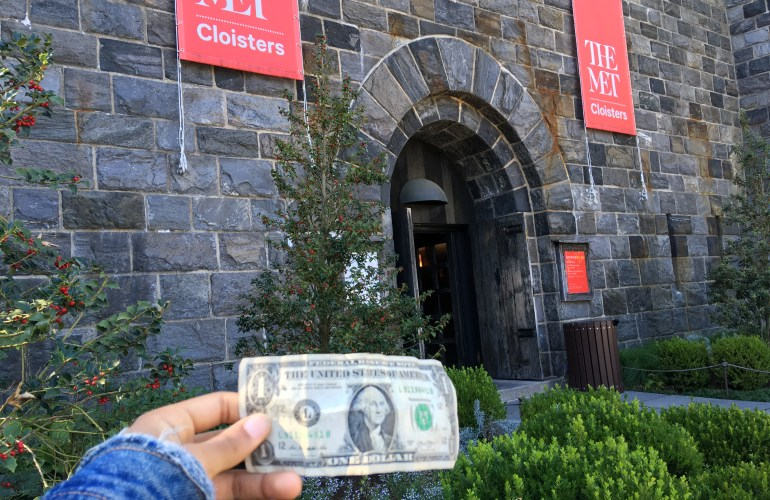 How to Pay-What-You-Wish at NYC Museums, MET Cloisters, Inwood Park