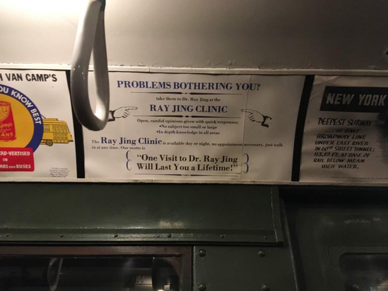 Holiday Nostalgia Train Ride Ad
