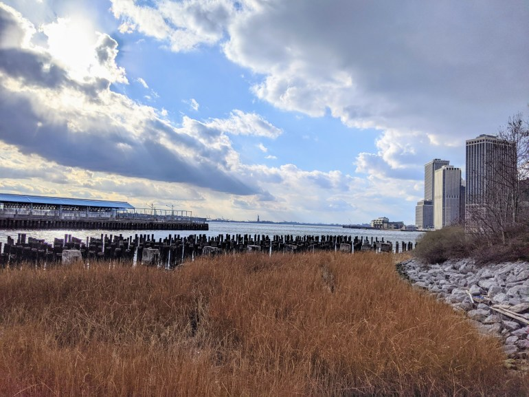 Brooklyn Bridge Park Winter