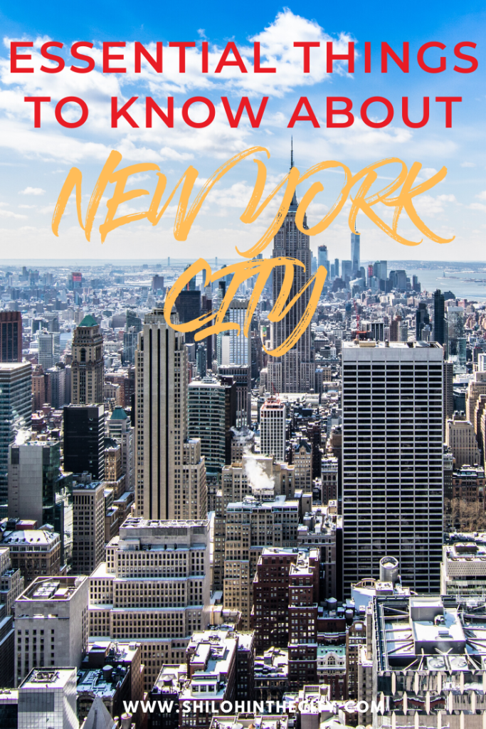 NYC Essential Facts Pinterest