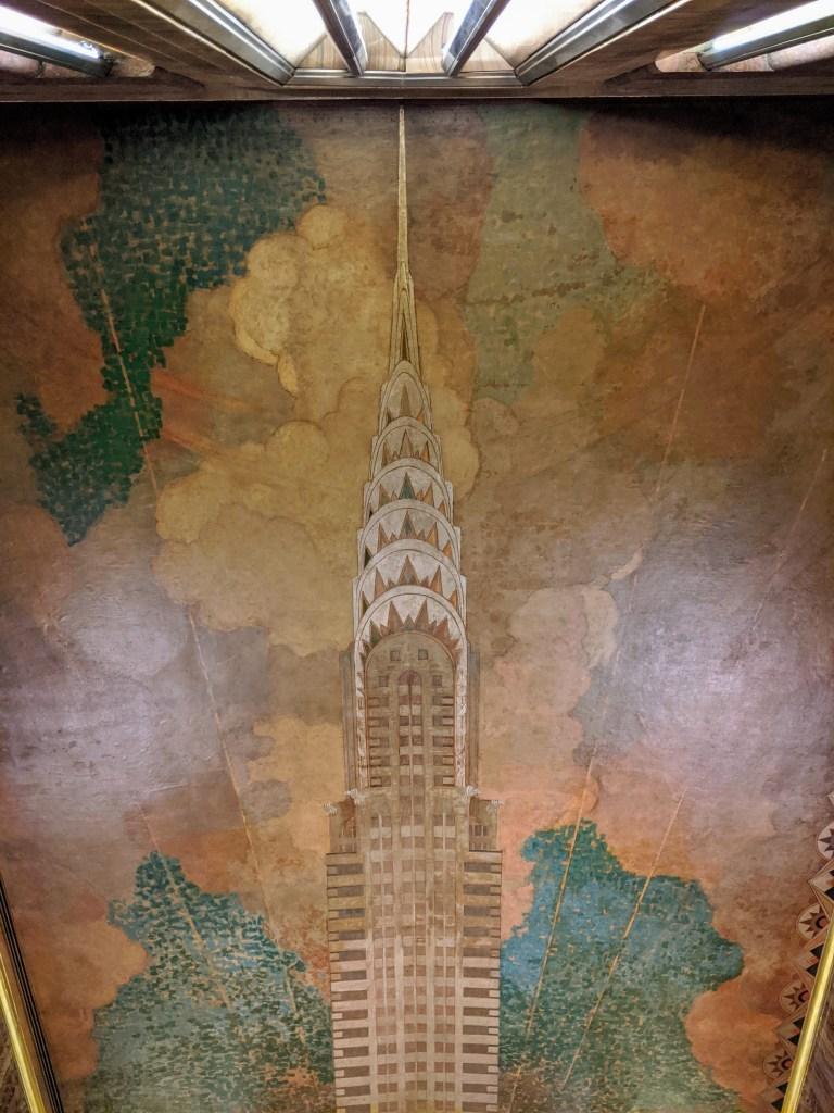 Chrysler Building Ceiling Mural