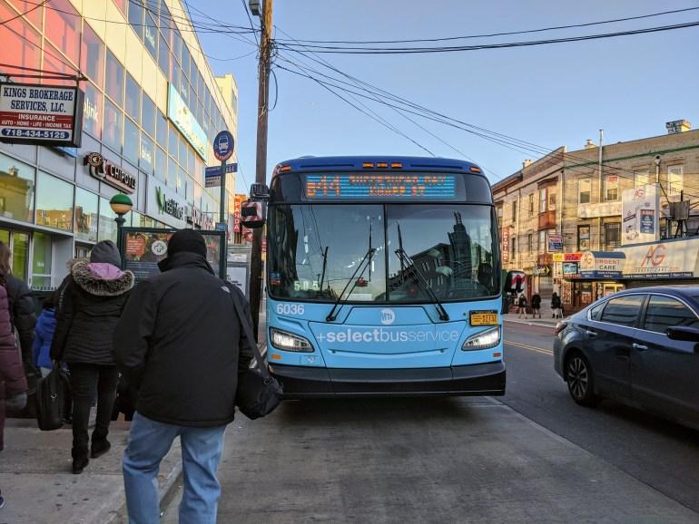 Buses NYC Navigation