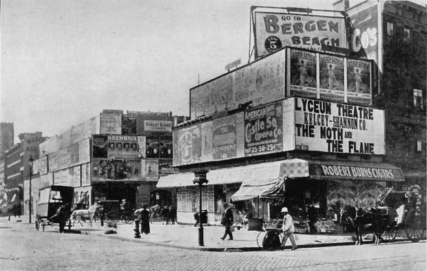 Longacre Square in 1898. Image via Wikimedia Commons.
