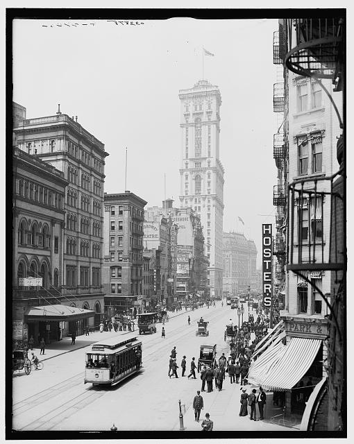 The early 1900s. Image via Library of Congress.