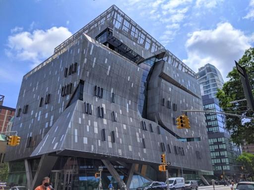 41 Cooper Square Weirdest Buildings in Manhattan