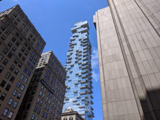56 Leonard Street Weirdest Buildings in Manhattan