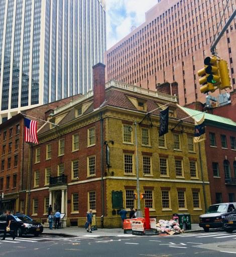 Fraunces Tavern Hamilton's New York