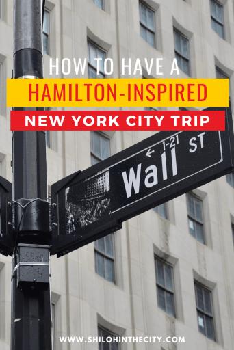 Hamilton's New York Pinterest