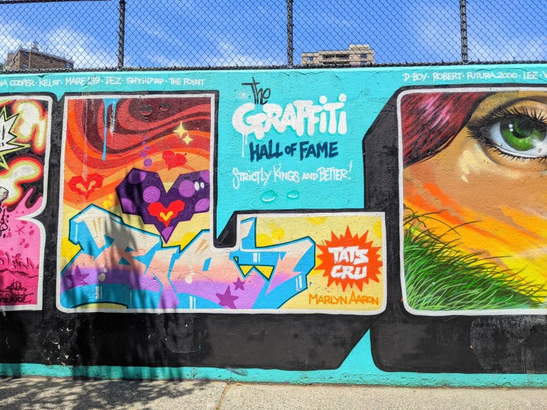 Graffiti Hall of Fame Underrated Places in Upper Manhattan
