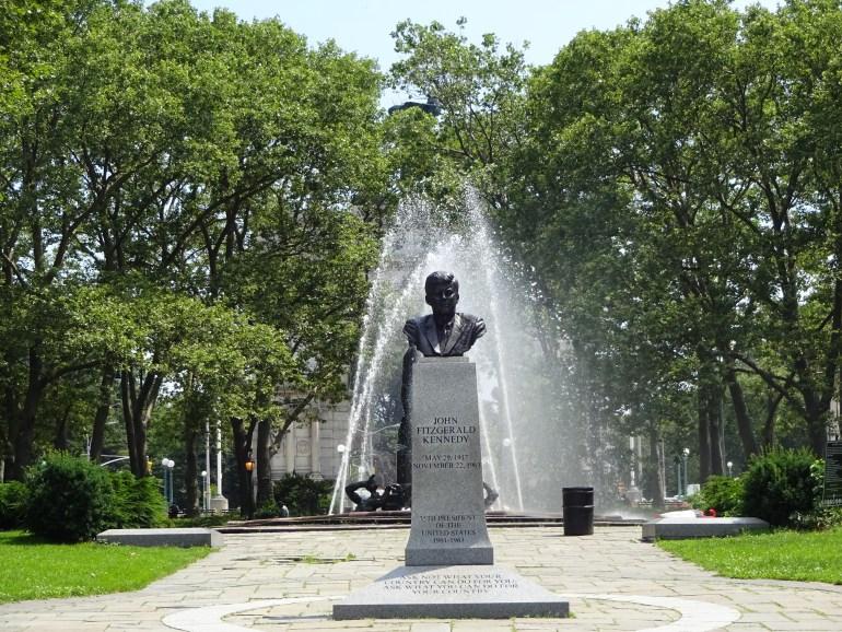 NYC presidential history Grand Army Plaza