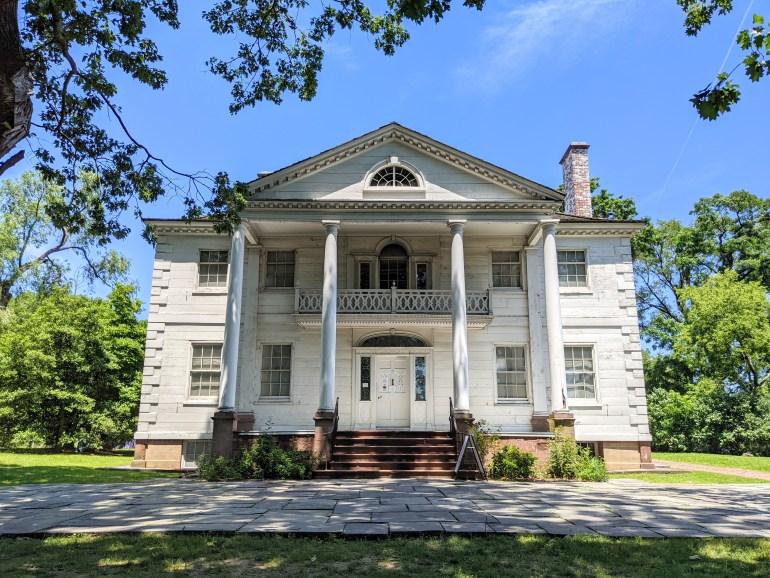 Morris-Jumel Mansion Revolutionary War Sites in NYC