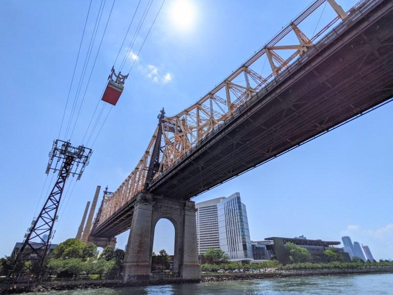 Soundview ferry ride Queensboro Bridge