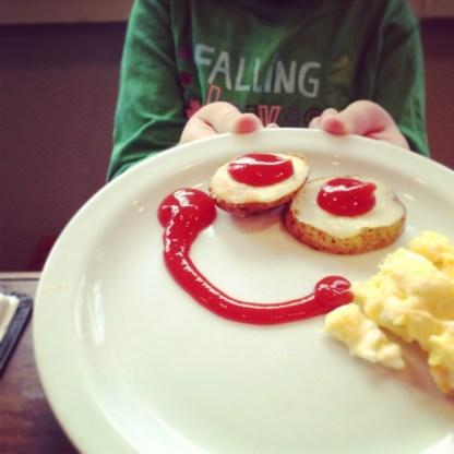 A happy breakfast!