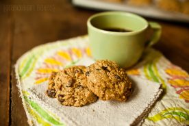 Chocolate Chip Peanut Butter Cookies 9:: Granola Girl Bakes