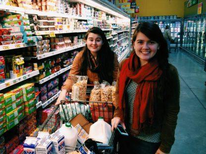 Grace & Lydia Super shoppers! ;)