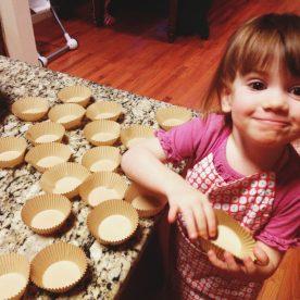 Emmi Cupcake baking!