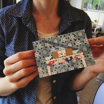 Perfectly handmade card