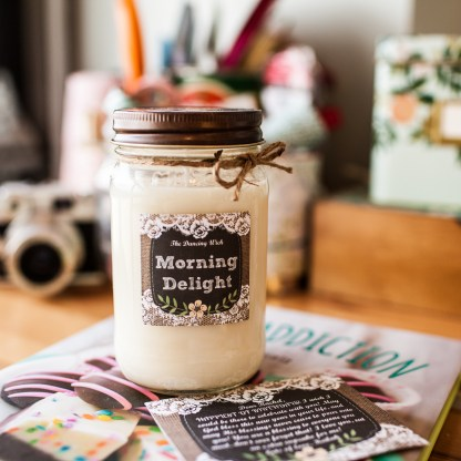 ♥ And a Washington candle that smells more beautiful than it looks! ♥