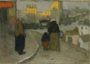 Picasso, Scene de rue, SFMOMA, San Francisco, California