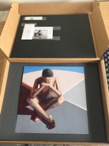"""""""My Zen"""", being shipped out to the museum."""
