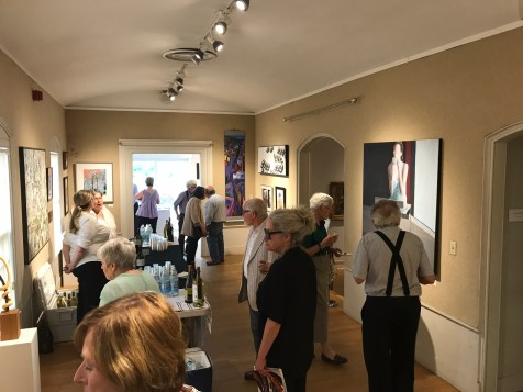 "Shilo Ratner's "" Savoring the Moment"" atCAFA 2017 Mystic Art Museum Exhibition"