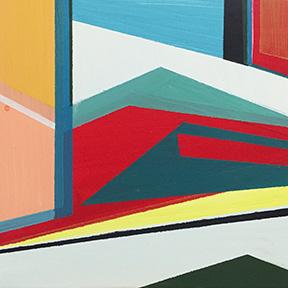 "New Beginning, 5 x 5"", Acrylic on Panel"