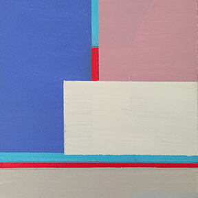 """Stillness Speaks, 5 x 5"""", Acrylic on Panel"""