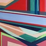 """Avenue, 5 x 5"""", Acrylic on Panel"""